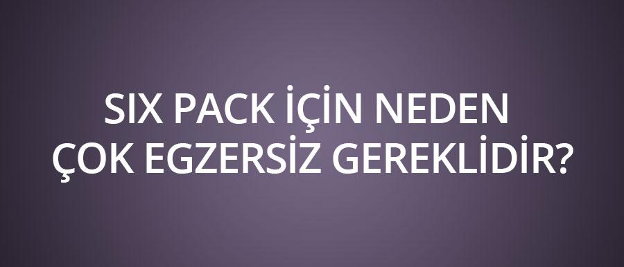 Six-pack-için-neden-çok-egzersiz-gereklidir